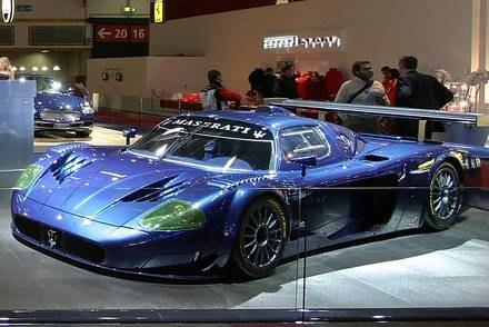 Maserati MC12 versione corse / Kliknij /INTERIA.PL