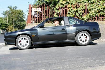 Maserati shamal / Kliknij /Classicauto