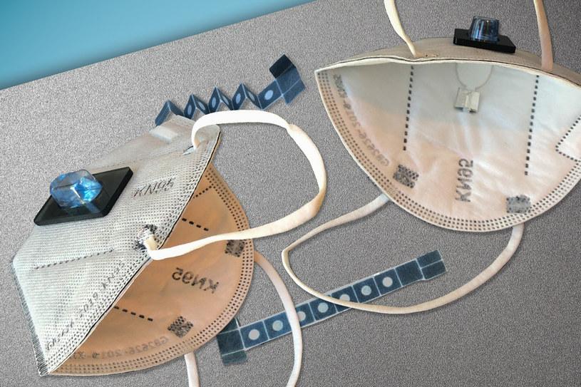 Maska diagnozująca Covid-19 /materiały prasowe