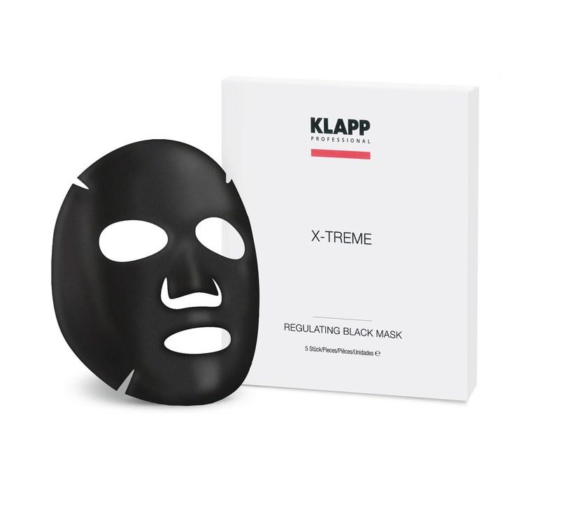 Maska KLAPP Regulating Black Mask /materiały prasowe