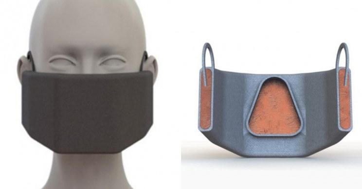 Maska opracowana przez MIT /materiały prasowe