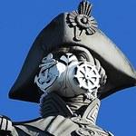 Maski gazowe na posągach w Londynie. Greenpeace walczy o czyste powietrze