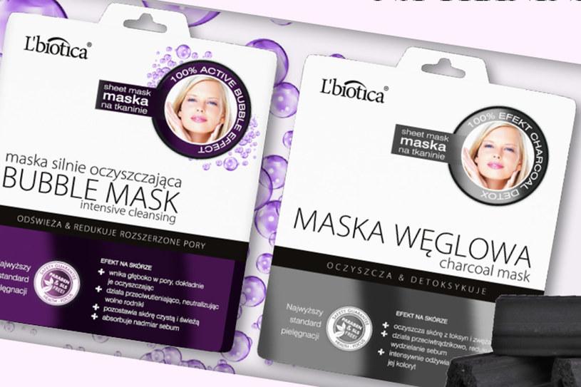 Maski L`biotica /Styl.pl/materiały prasowe