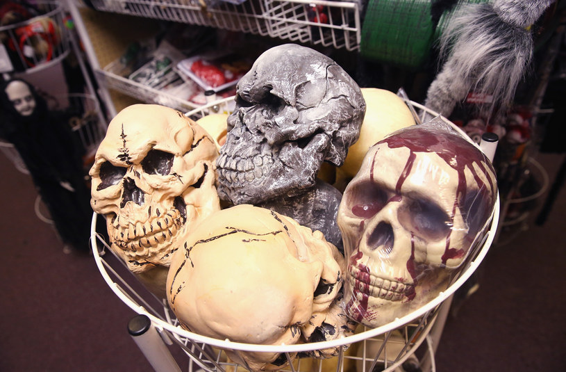 Maski na Halloween /AFP