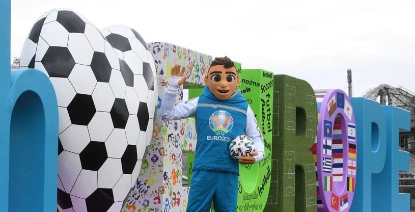 Maskotka Euro 2020 - Skillzy /AFP