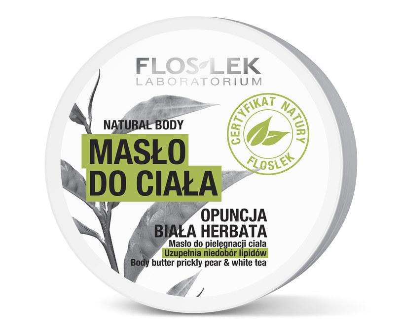 Masło do ciała z linii Natural Body marki FLOSLEK /materiały promocyjne