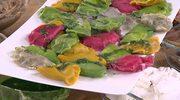 Masło orzechowe i kolorowe pierogi Katarzyny Bosackiej