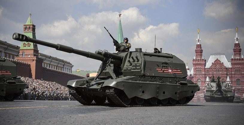 Masowa produkcja nowego opancerzenia może rozpocząć się w 2021 roku. Na zdjęciu: 2S19 Msta-S – radziecka samobieżna haubicoarmata /AFP