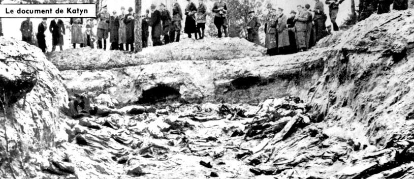 Masowy grób w Katyniu / UPPA/Photoshot    /PAP/EPA