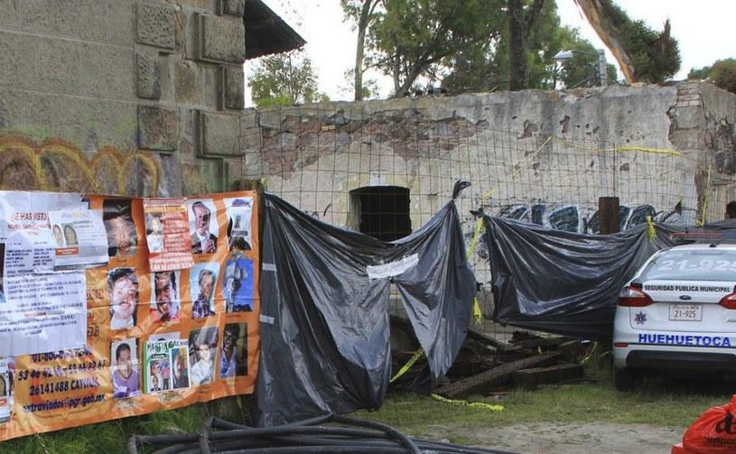 Masowy grób w Meksyku /AFP
