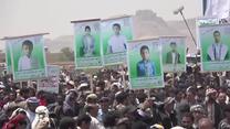 Masowy protest podczas pogrzebu ofiar ataku na szkolny autobus w Jemenie