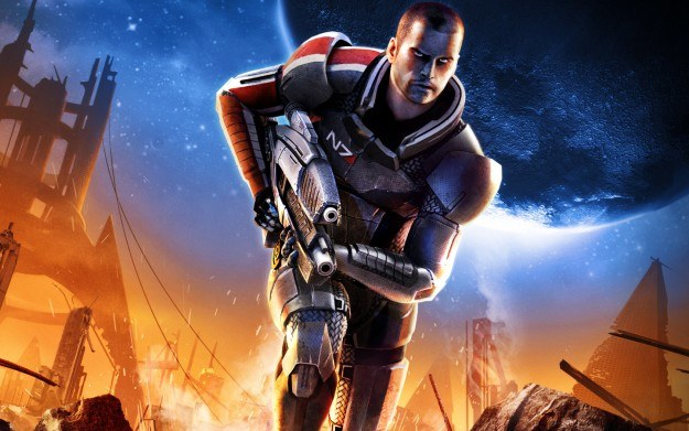 Mass Effect 2 - motyw graficzny /Informacja prasowa