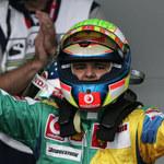 Massa, Alonso, Button. Kubica 9.
