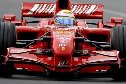 Massa był najszybszy na treningu / Kliknij /AFP