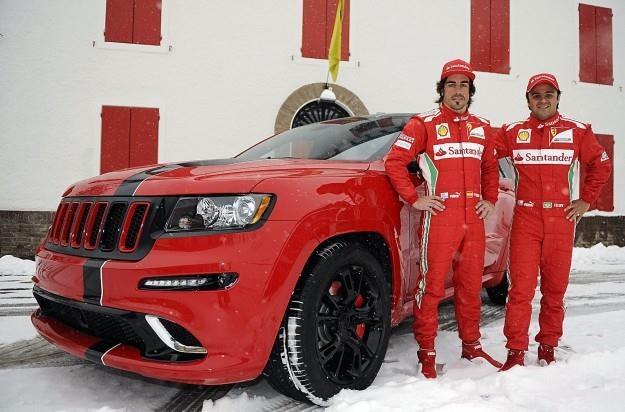 Massa i Alonso będą jeździli jeepami /