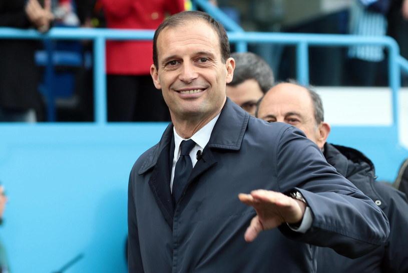 Massimiliano Allegri, trener Juventusu /PAP/EPA/Elisabetta Baracchi /PAP/EPA