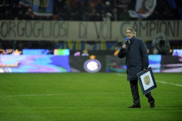 Massimo Moratti sprzedaje 70 procent akcji Interu Mediolan /AFP