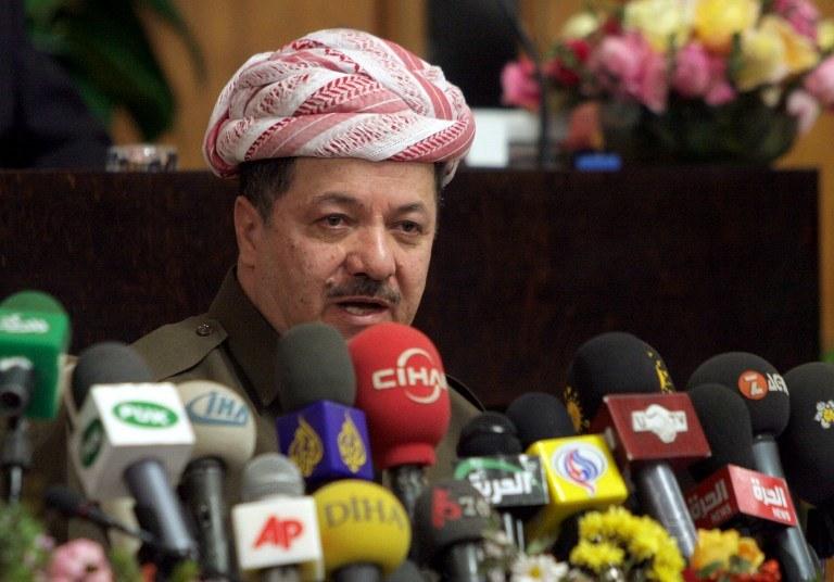 Masud Barzani /AFP