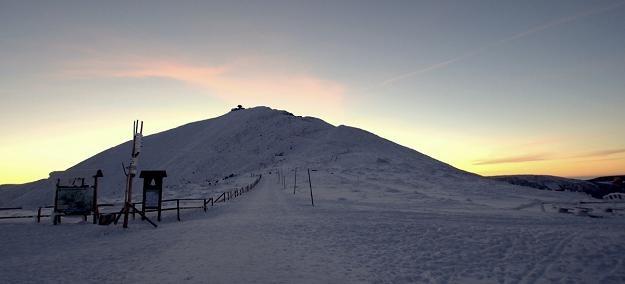 Masyw Śnieżki, najwyższej góry Sudetów /Odkrywca