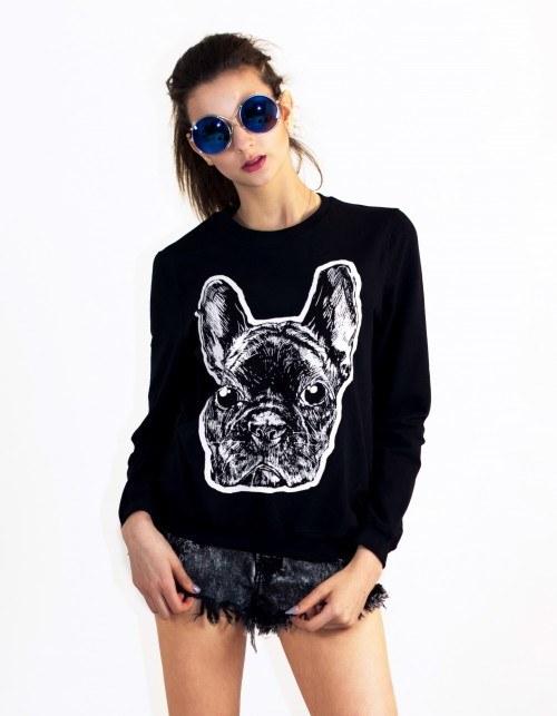 Masz buldoga? Kup sobie jeszcze bluzę! /showroom.pl /Internet