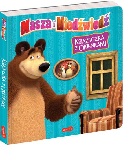 Masza i Niedźwiedź. Książeczka z okienkami /INTERIA.PL/materiały prasowe