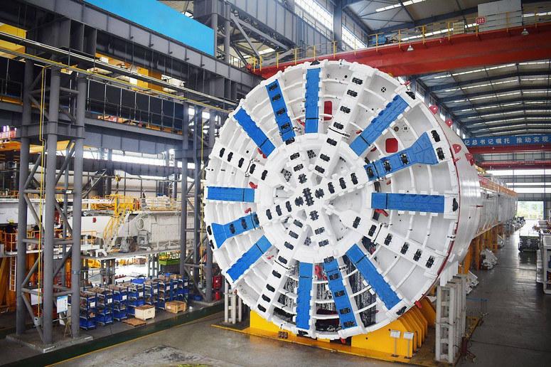 Maszyna drążąca tunel drogowy już w Świnoujściu /materiały prasowe