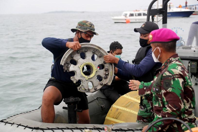Maszyna runęła do Morza Jawskiego wkrótce po starcie /BAGUS INDAHONO /PAP