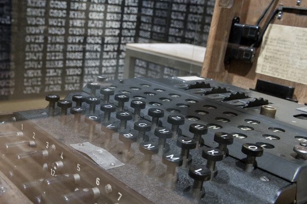 """Maszyna szyfrująca """"Enigma"""" /Łukasz Dejnarowicz /Agencja FORUM"""