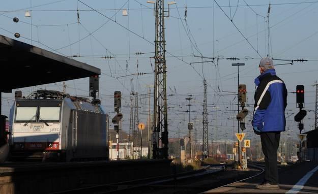 Maszyniści niemieckich kolei będą dzisiaj strajkować... /AFP