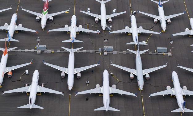 Maszyny Boeing 737 MAX uziemione w Seattle, stan Waszyngton /AFP