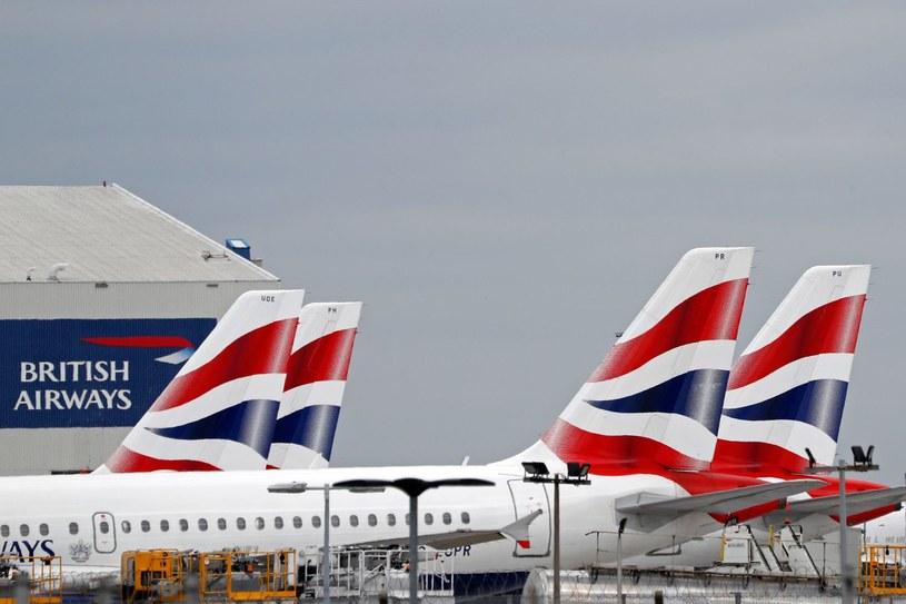 Maszyny British Airways na lotnisku London-Heathrow /AFP