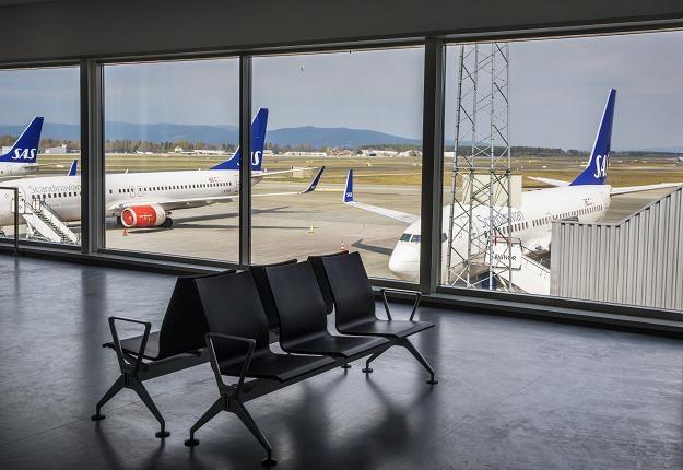 Maszyny SAS uziemione na lotnisku Oslo Gardermoen /EPA
