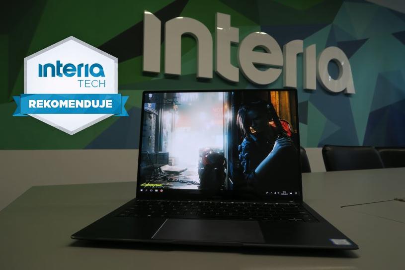 MateBook X Pro otrzymuje REKOMENDACJĘ serwisu Nowe Technologie Interia /INTERIA.PL