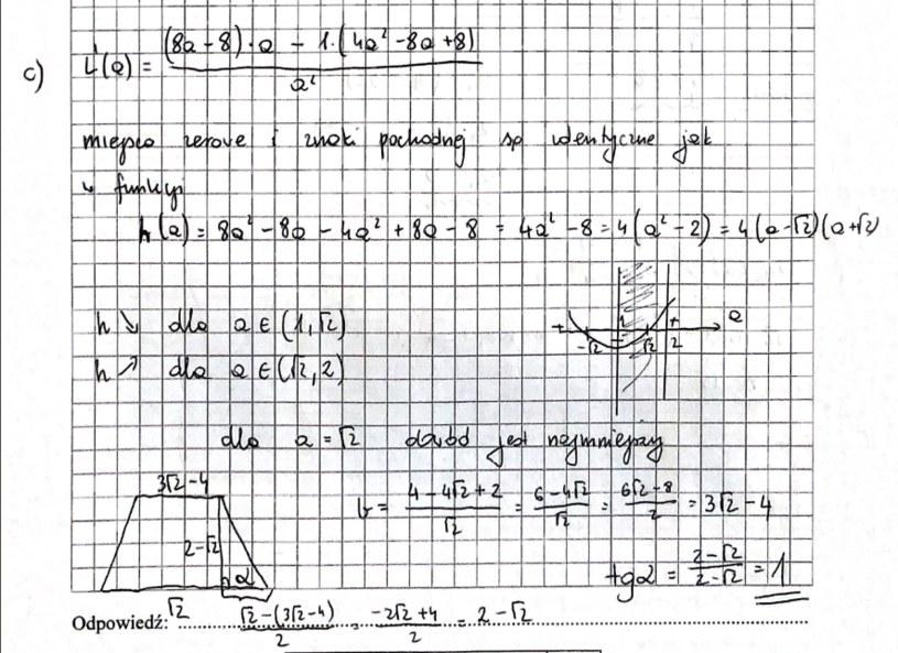 Matematyka na poziomie rozszerzonym - propozycja rozwiązań /RMF FM