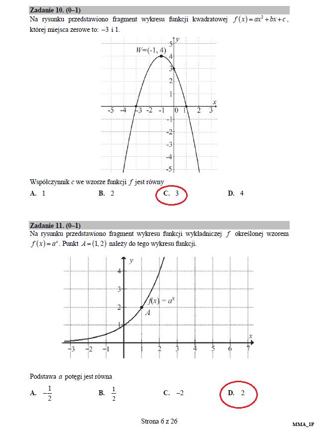 Matematyka poziom podstawowy – matura 2017 /INTERIA.PL