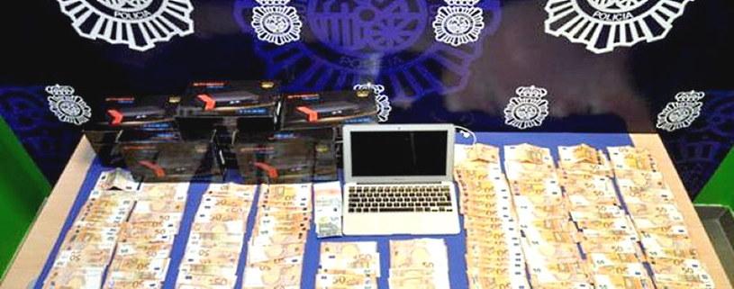 Materiały operacyjne hiszpańskiej policji /materiały prasowe
