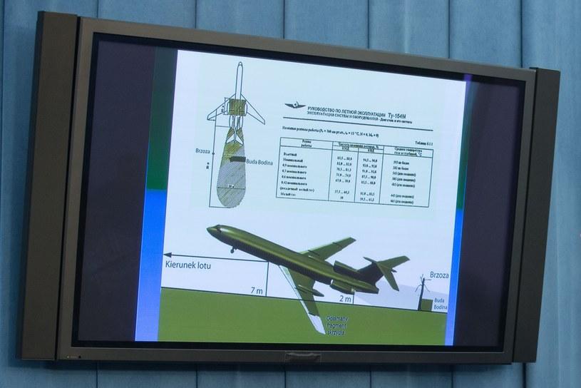Materiały prezentowane podczas posiedzenia parlamentarnego zespołu ds. badania katastrofy smoleńskiej /Krystian Maj /Agencja FORUM