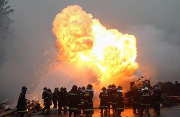 Materiały wybuchowe przestaną być groźne? /AFP