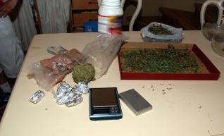 Materiały zabezpieczone na miejscu /Policja /RMF/Policja