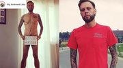 "Mateusz ""Big Boy"" Borkowski z programu ""GoogleBox"" nago. Schudł 133 kg"