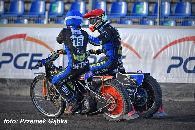 Mateusz Cierniak i Mikkel Michelsen /Przemysław Gąbka /Flipper Jarosław Pabijan