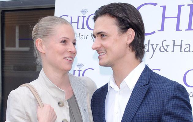 Mateusz Damięcki i Paulina Andrzejewska /Andras Szilagyi /MWMedia
