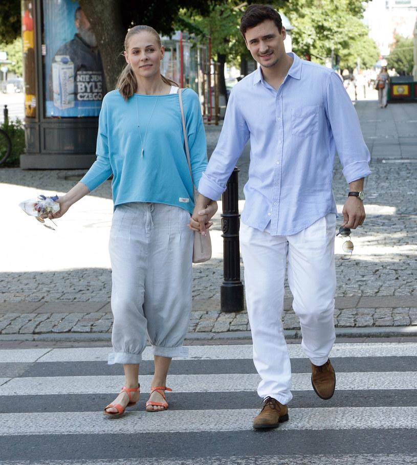 Mateusz Damięcki i Paulina Andrzejewska /Agencja FORUM