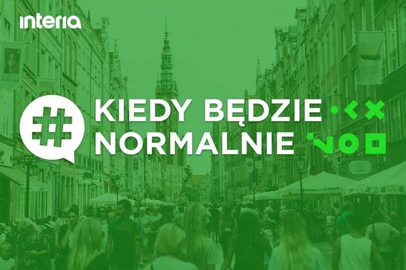 Mateusz Damięcki wziął udział w akcji Interii #KiedyBędzieNormalnie /INTERIA.PL