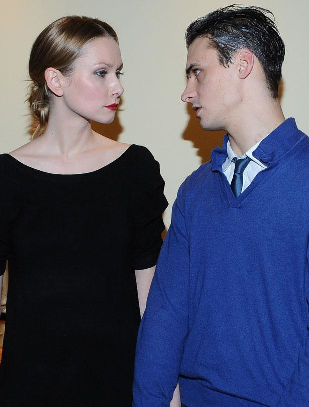 Mateusz Damięcki z byłą żoną, fot. Andras Szilagyi  /MWMedia
