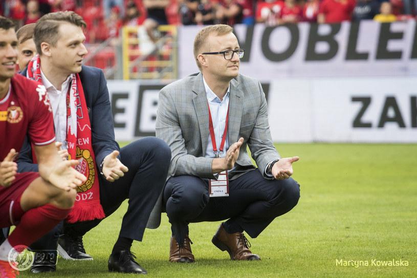 Mateusz Dróżdż /Martyna Kowalska/Widzew.com /materiały prasowe