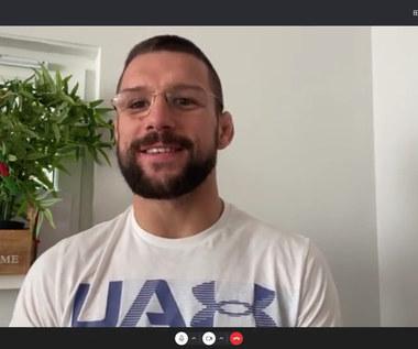 Mateusz Gamrot: Chciałbym teraz Tony'ego Fergusona! Wideo (POLSAT SPORT)