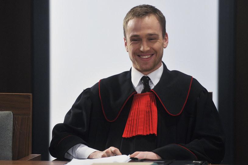 """Mateusz Janicki  (na planie serialu """"Prawo Agaty"""") /Niemiec /AKPA"""