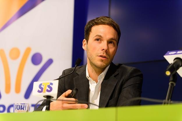 Mateusz Juroszek, prezes STS /PAP