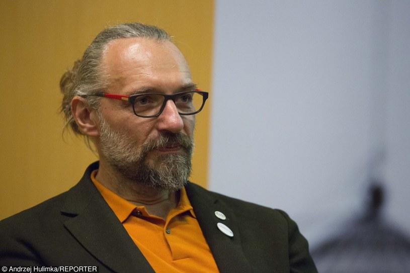 Mateusz Kijowski, lider KOD /Andrzej Hulimka  /Reporter